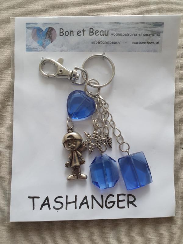 Sleutel / tashanger Blauw