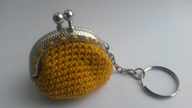 Patroon portemonnee sleutelhanger 5 cm Bon et Beau
