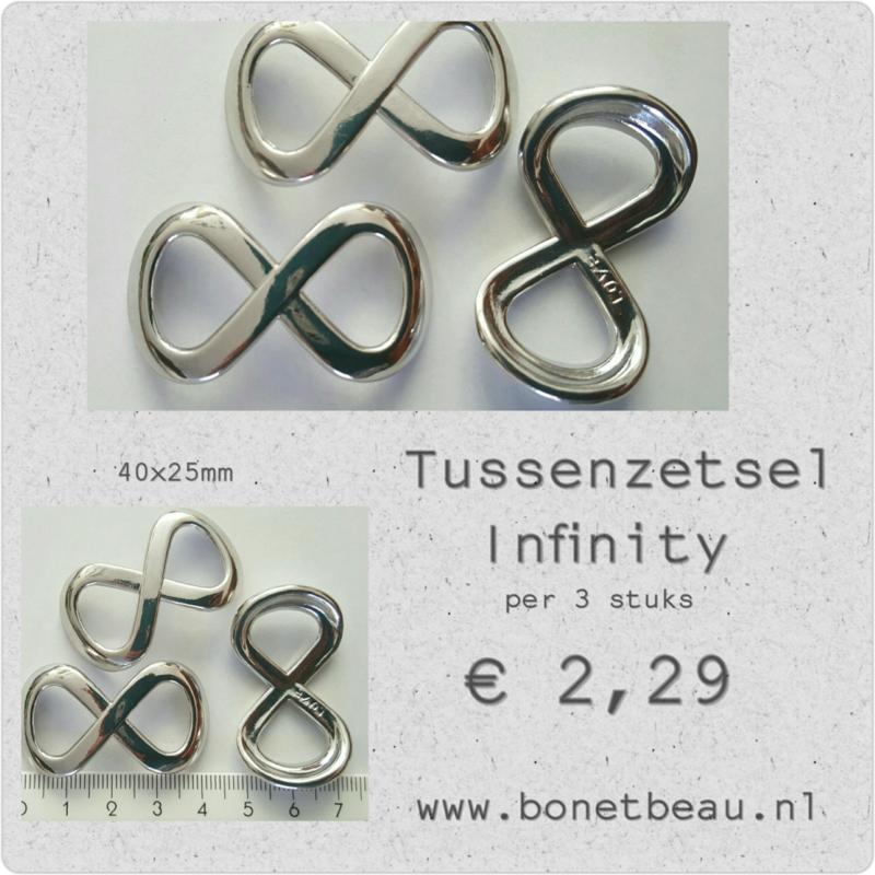 Tussenzetsel Infinity per 3 stuk