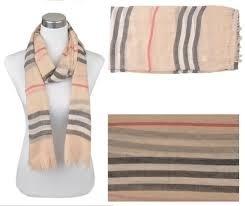 Voile sjaal, ca.190x90cm Beige