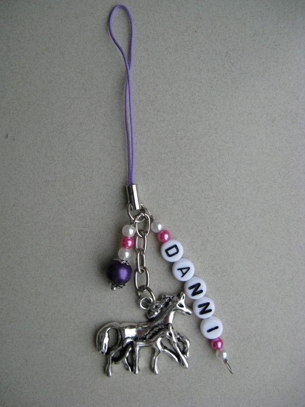 Mobiel / DS hanger met naam