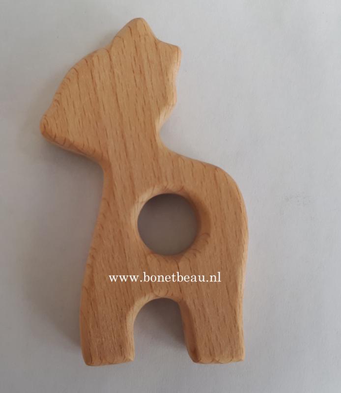 Beuken houten ring Hertje