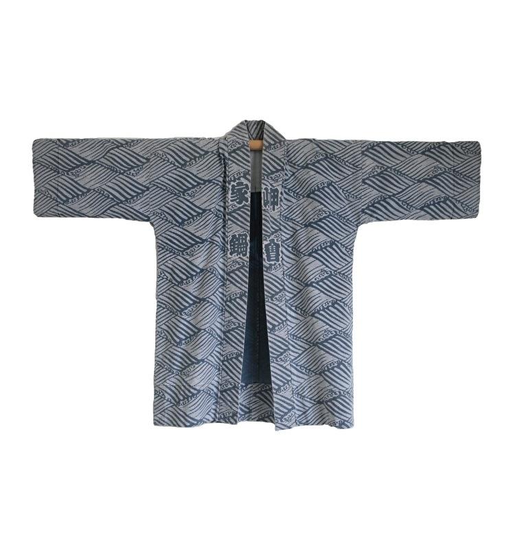 Workwear Nautical Indigo Kimono