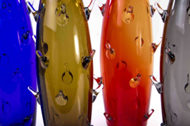 Kristallen Cactus vazen 40cm in 4 kleuren