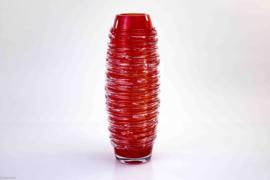 Kristallen vazen 40cm in 4 kleuren