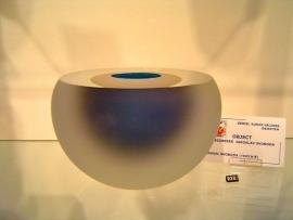 Frosted Object met Blauw gesigneerd