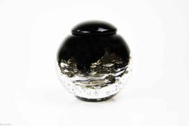 Urn van Kristal met bladgoud