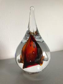 Druppel van Kristal gesigneerd Amber