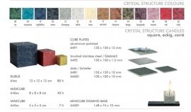 Amabiente Bassus 66xx met Stainless steel plaat 6492