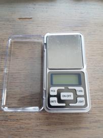 Weegschaal: 0,1 - 500 gram nauwkeurig