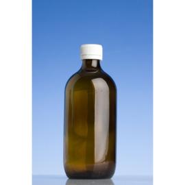 Fles: bruin glas 500 ml