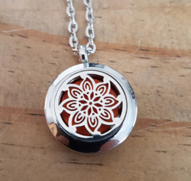 Etherische olie medallion: flowerpower - small