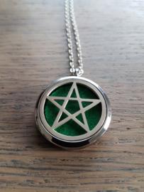 Etherische olie medallion: Pentagram