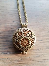 Etherische olie medallion: steampunk wheels