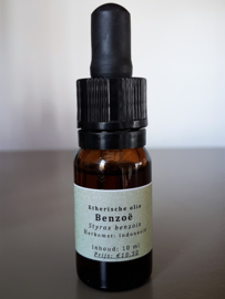 Etherische olie: Benzoë - Styrax benzoin