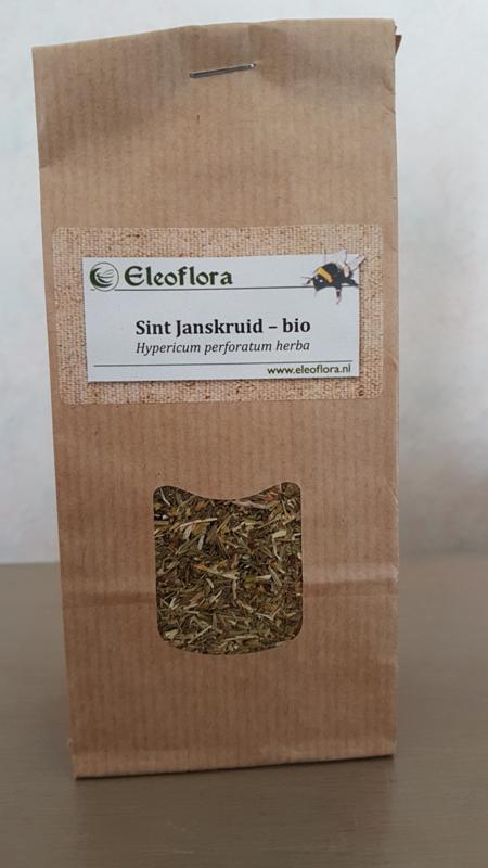 "Sint Janskruid (herba), ""Hypericum perforatum"" - biologisch 50 gram"