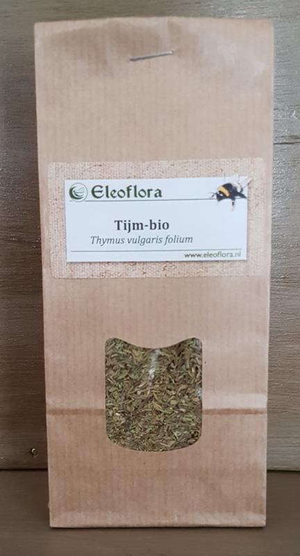 """Tijm (blad), """"Thymus vulgaris"""" -  biologisch 50 gram"""
