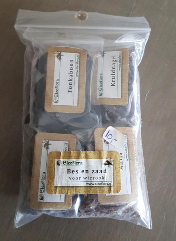 Wierookpakket: bessen en zaden