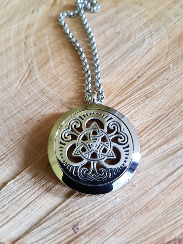 Etherische olie medallion: Celtic knot