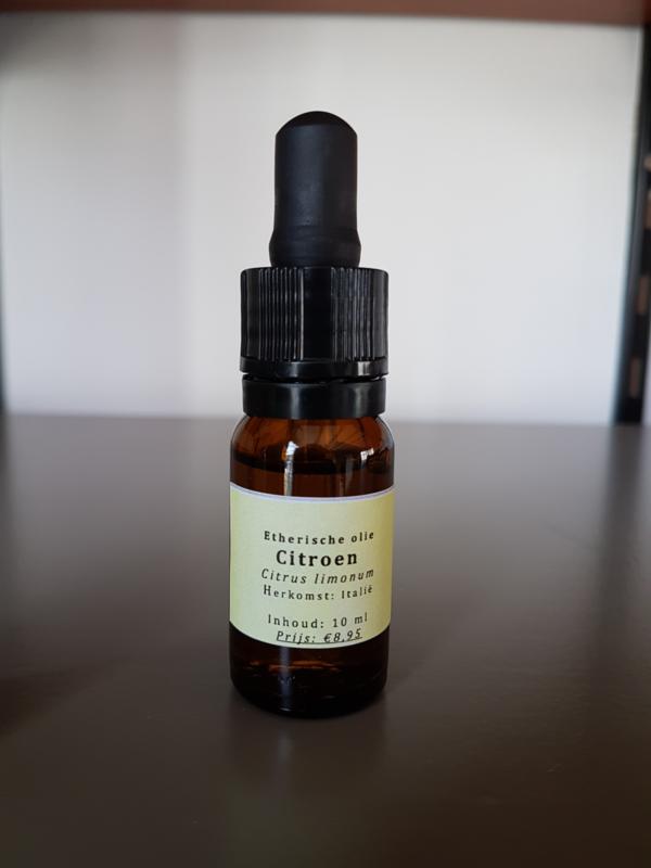 Etherische olie BIO: Citroen - Citrus limonum