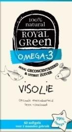 Royal Green Omega 3 visolie 60 softgels