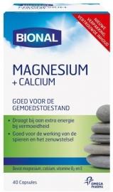 Bional Magnesium Calcium 40 capsules