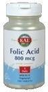 Bloem Foliumzuur 800mcg en B12 100 tabletten
