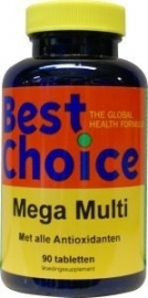 Best Choice Mega Multi 90 tabletten