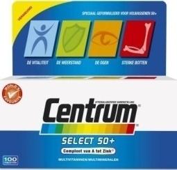 Centrum Select 50+ advanced 100 tabletten