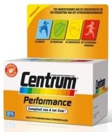 Centrum Performance advanced 25 tabletten