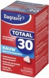Dagravit Totaal 30 Xtra 60 kauwtabletten