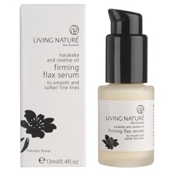 Living Nature Firming Flax serum oogcreme