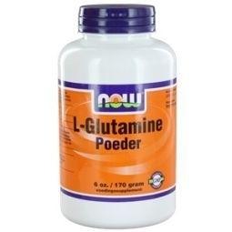 NOW L Glutamine poeder 170 gram