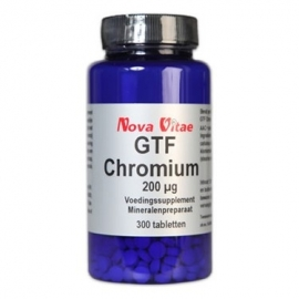 Nova Vitae GTF Chromium 200mcg  250 tabletten