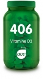 AOV 406 Vitamine D3 5mcg 60 tabletten