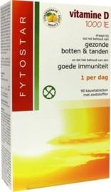 Fytostar Vitamine D kauw zuigtablet