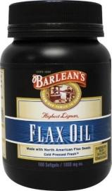 Barleans Flax Oil 100 capsules