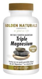 Golden Naturals Triple magnesium voordeelpot