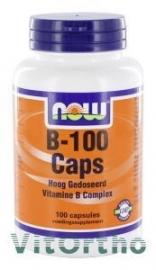 NOW Vitamine B-100, 100 Capsules