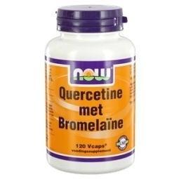 NOW Quercetin met Bromelaïne