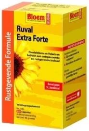 Bloem Ruval extra forte zonder sint janskruid 100 capsules