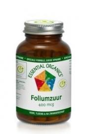 Essential Organics Foliumzuur 400mcg 90 tabletten