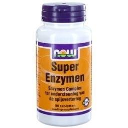 NOW Enzymen complex 800mg 90 tabletten