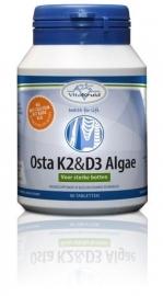 Vitakruid Osta K2 & D3 algae 90 tabletten