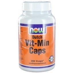 NOW Dutch Vit Min - 250 capsules