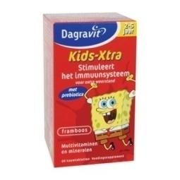 Dagravit Kids Multi Framboos 2 - 5 jaar 120 kauwtabletten