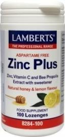 Lamberts Zink (zinc) plus 100 zuigtabletten
