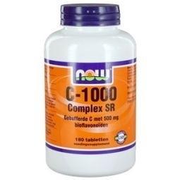 NOW Vitamine C 1000 Complex SR gebufferde C 180 tabletten