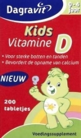 Dagravit Kids Vitamine D 200 tabletten