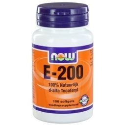 NOW Vitamine E 200IU D Alpha Tocophertyl